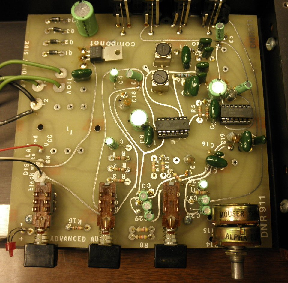 Dynamic Noise Reduction And The Dnr System 911 Overview Stereo Limiter Circuit Board