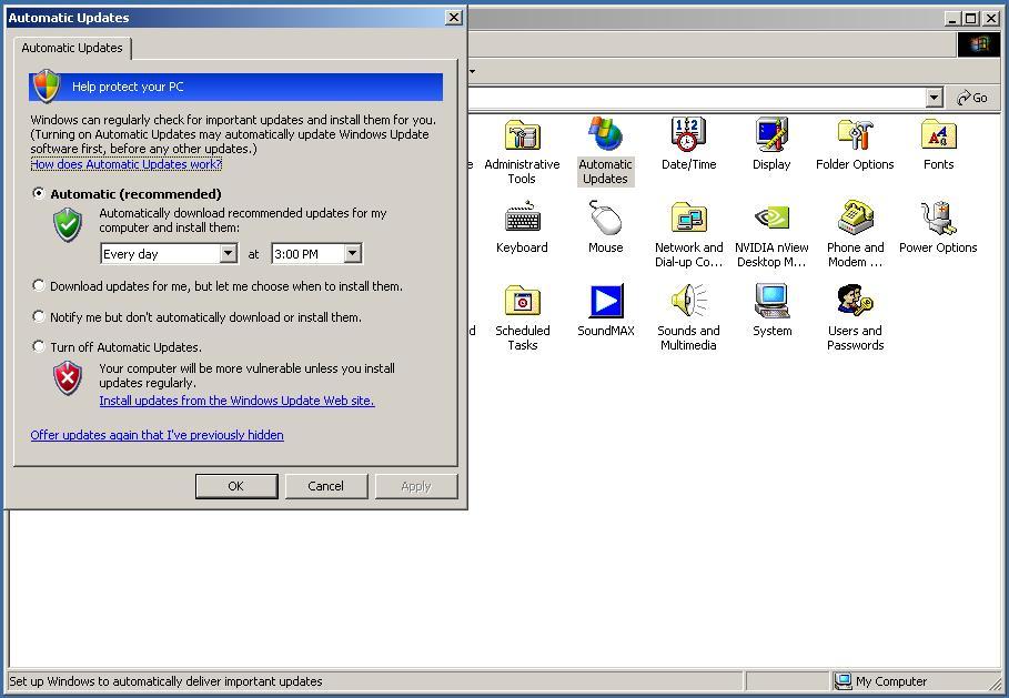 Windows 2000 Un-Official Updates