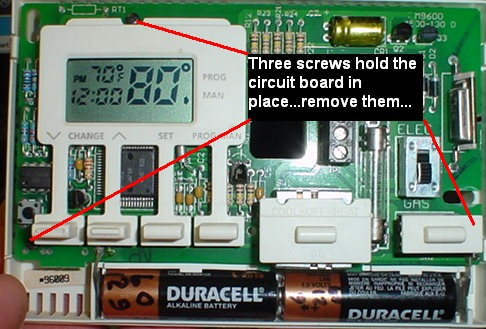 repairing a maple chase 9600 or robershaw 9600 thermostat maple chase thermostat wiring diagram repairing a maple chase 9600 or
