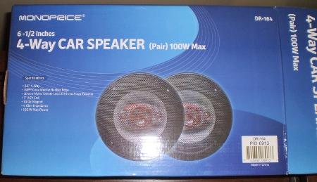 Monoprice 6 5 Car Speaker Review