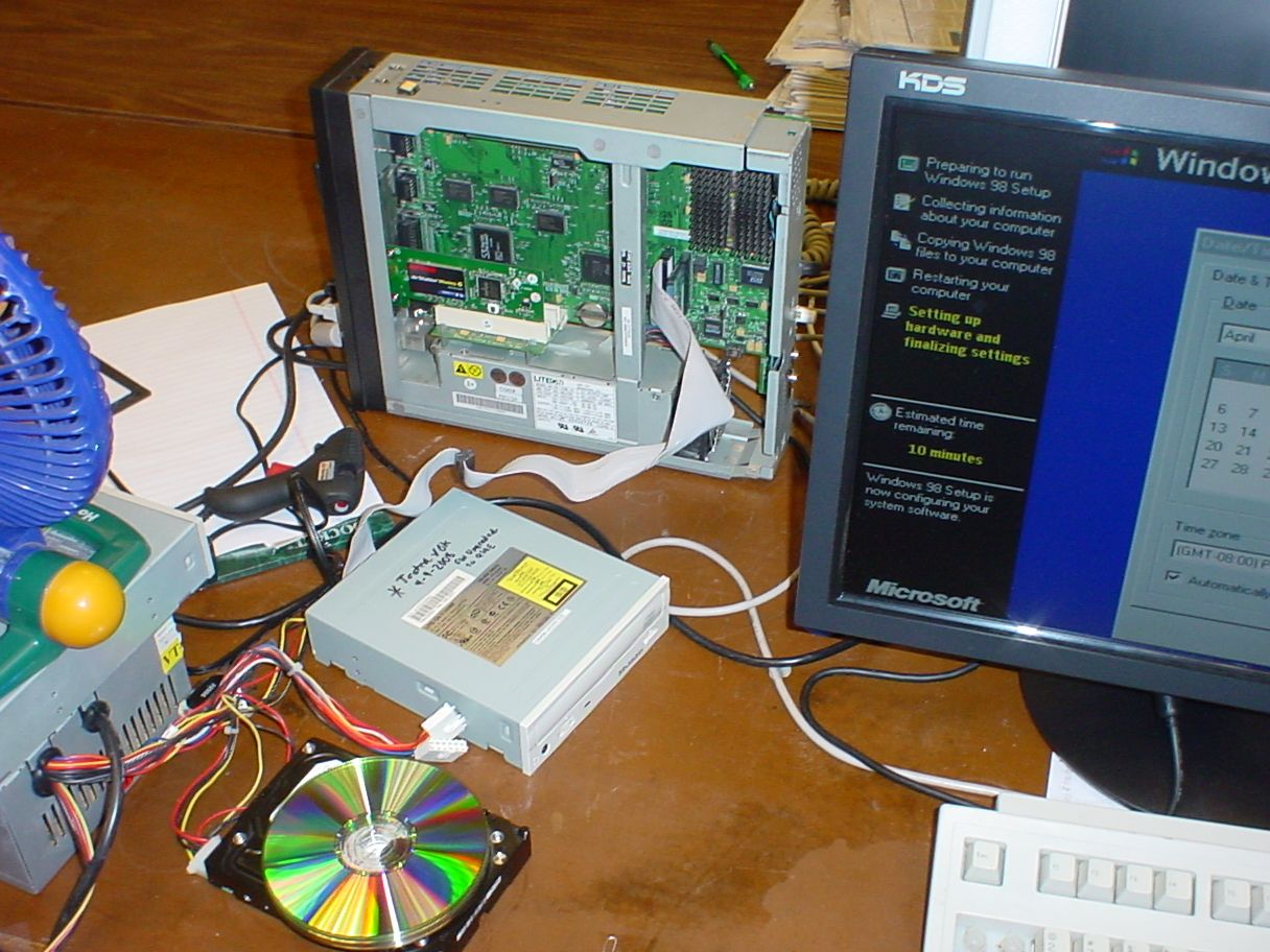 Windows 98 98se On The Ibm Netvista 8364